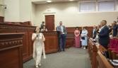 На засіданні Київради Ніні Матвієнко вручили відзнаку почесної громадянки столиці