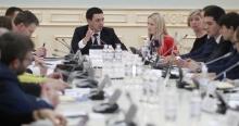 Володимир Прокопів на публічному обговоренні удосконалення механізмів розгляду електронних петицій