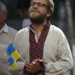 Урочистості з нагоди 25-ї річниці підняття у місті Києві національного прапора України