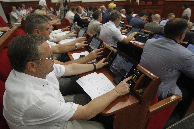 Пленарне засідання Київської міської ради