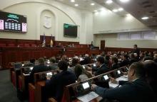 Пленарне засідання сесії Київської міської ради