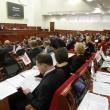 Обговорення деяких питань під час пленарного засідання Київради у сесійній залі