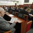 Депутати Київради готуються до голосування під час пленарного засідання Київради