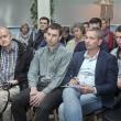 Заступник міського голови - секретар Київради Володимир Прокопів із громадськістю обговорюють питання реалізації петицій Киян